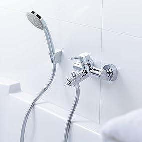 La grifería de la línea Talis incluye también grifos de ducha, bañera y de bidé.