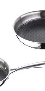Wok 28x8.0cm Acero Inoxidable inducción Hi-Tech: Amazon.es: Hogar