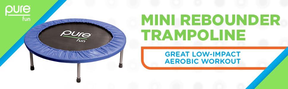 Amazon.com: Pure Fun Mini Rebounder - Cama elástica para ...