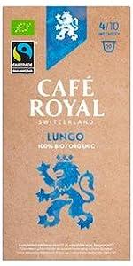 Café Royal Nespresso* kompatible Kapseln - Bio/Organic Lungo
