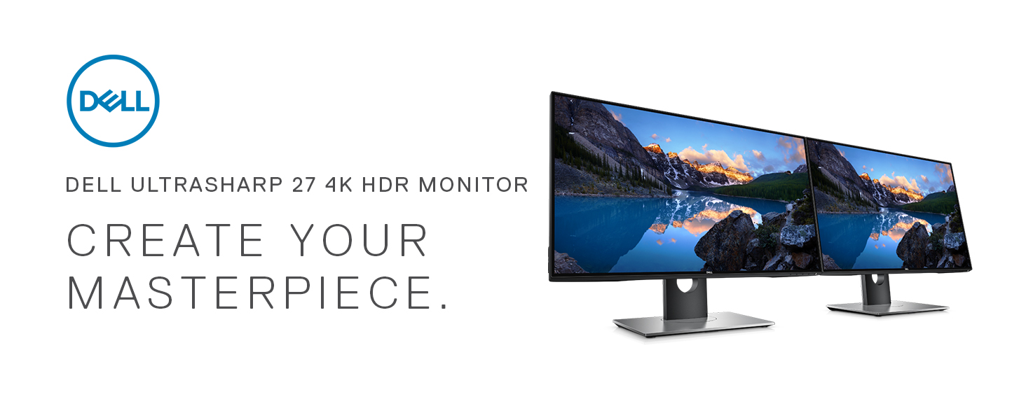 Dell Ultrasharp U2718Q 27-Inch 4K IPS Monitor