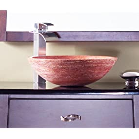 bathroom vessel sink, natural stone, stone bath sinks, hand-crafted, novatto, natural element, bowl