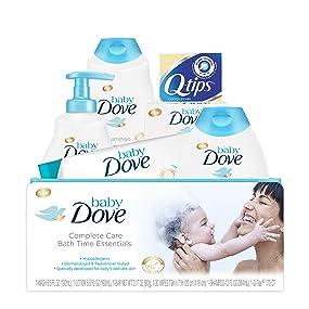 Baby Dove Complete Care Bathtime Essentials Gift Set