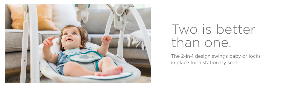 tow in one 2 in 1 swing and rocker