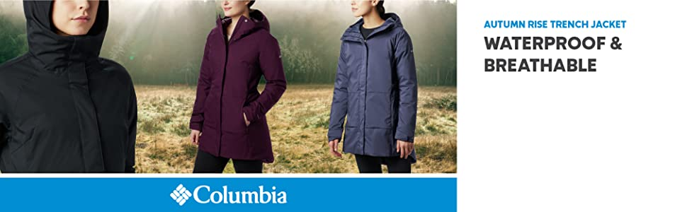 Columbia Women's Autumn Rise Trench Jacket