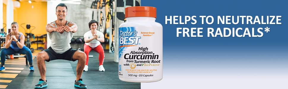 Curmin turmeric root healthy joint function protect cells and tissue by fighting free radicals