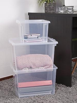 Boîtes de rangement en plastique Useful Storage Box