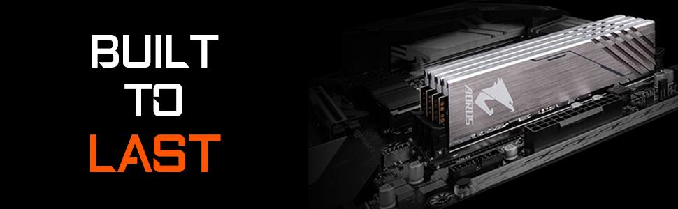 AORUS RGB ARGB DIGITAL MEMORY RAM DDR4 DDR 3200MHZ MHZ CL CAS LATENCY