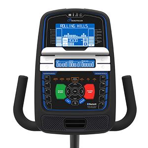 Nautilus R616 Recumbent Bike LCD Display