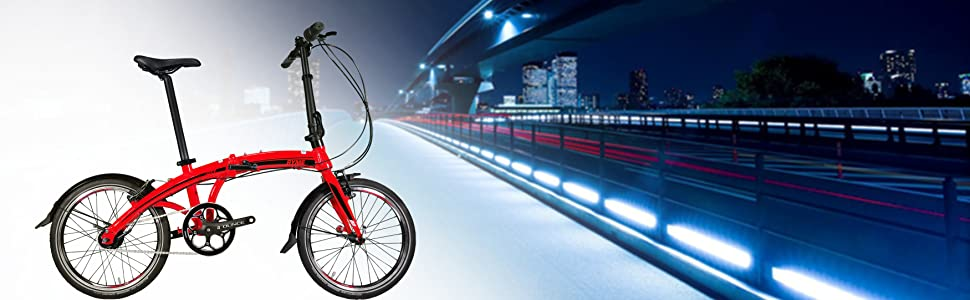 RYMEBIKES Bicicleta Plegable 20´´ Citizen Blue: Amazon.es: Deportes y aire libre
