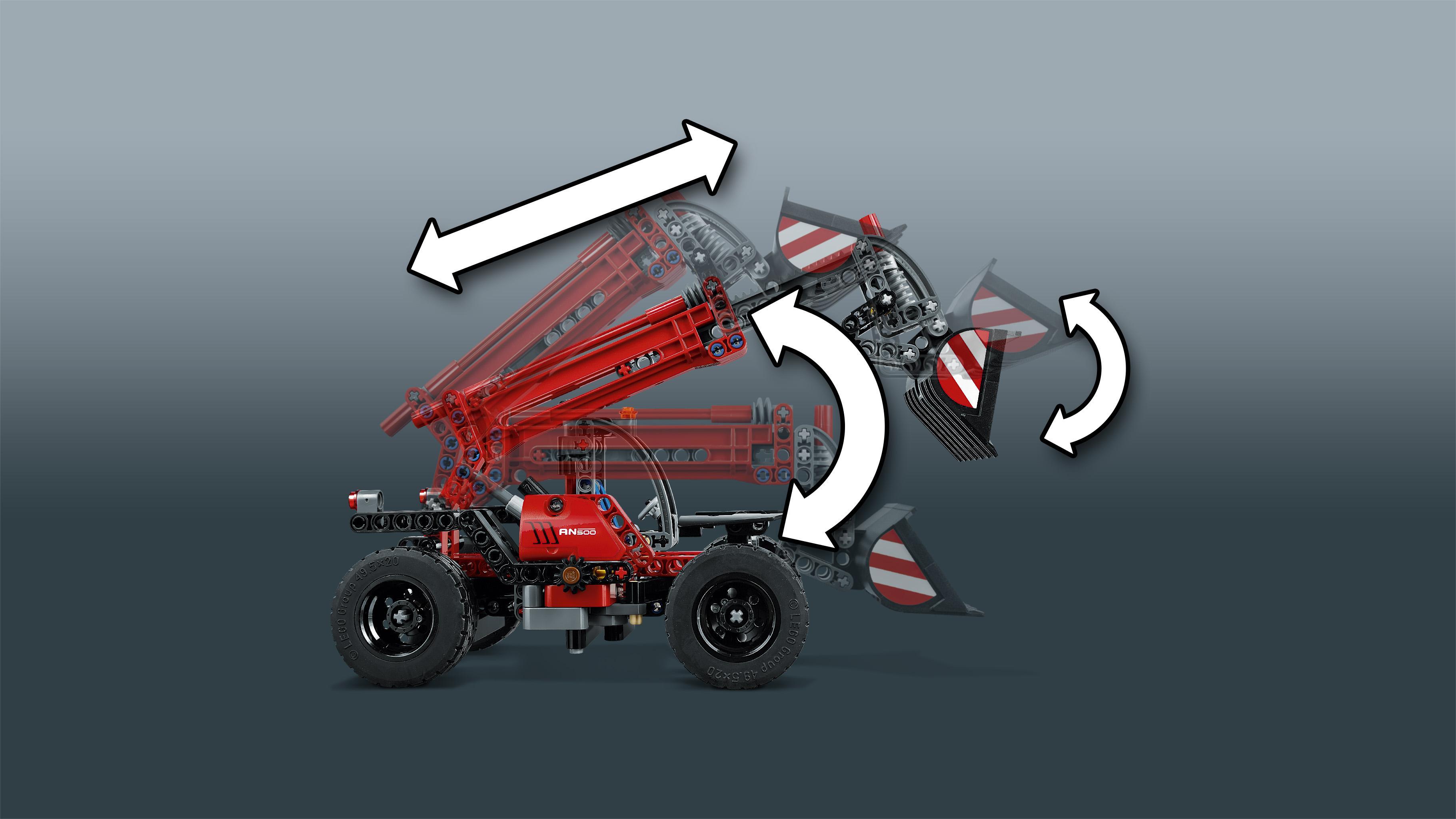 LEGO Technic - Manipulador telescópico (42061): Amazon.es