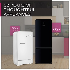 62 YEARS OF THOUGHTFUL APPLIANCES