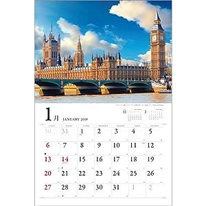 風景 絶景 イギリス フランス スペイン ドイツ イタリア ポルトガル インド ヨーロッパ ロンドン パリ ローマ バチカン 綺麗 壁掛け 南国 リゾート 観光 旅行 ハネムーン バカンス カレンダー