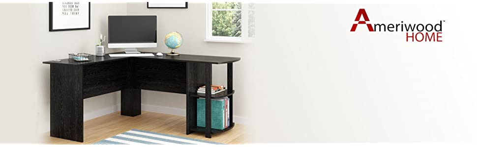 dakota l shaped desk perfect for the home office - Home Office L Shaped Desk