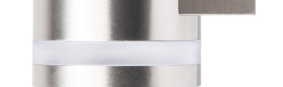 Smartwares GWS-002-DS, Luz de pared, Energía solar, Lámpara LED ...