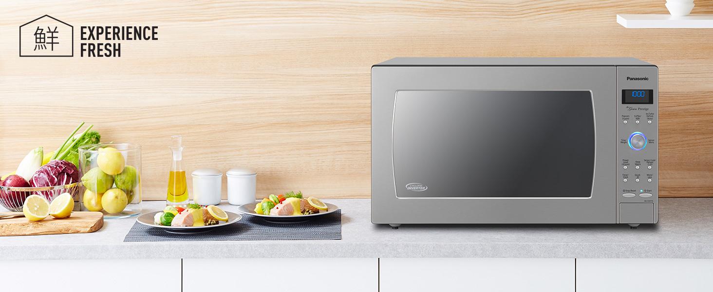 Amazon Com Panasonic Countertop Built In Microwave Oven