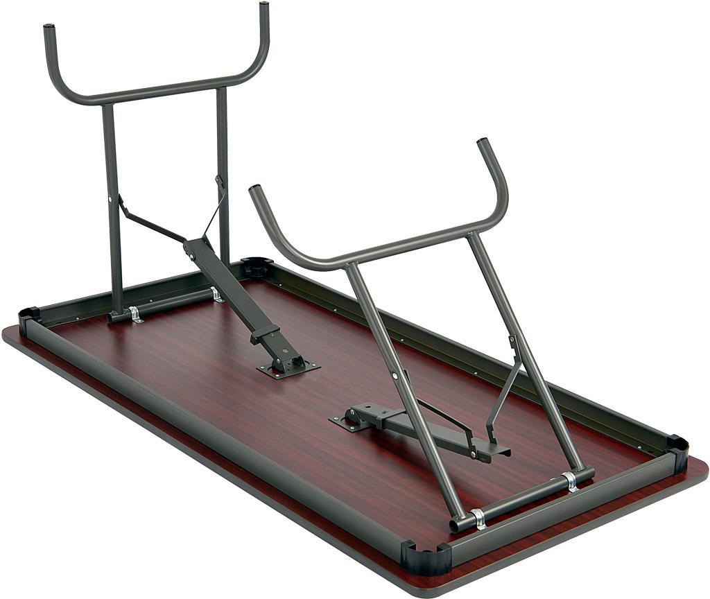 Iceberg Ice55227 Premium Wood Laminate Folding Table With