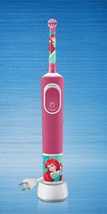 Oral-B Princess theme power brush for Kids 3+ years strong teeth make strong kids
