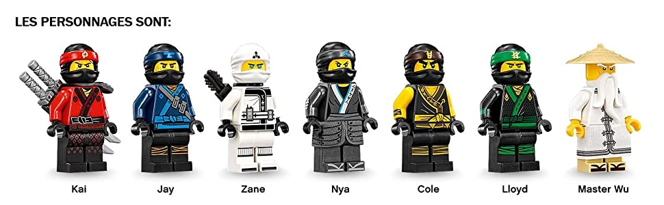 lego ninjago le qg des ninjas 70618 jeu de construction jeux et jouets. Black Bedroom Furniture Sets. Home Design Ideas