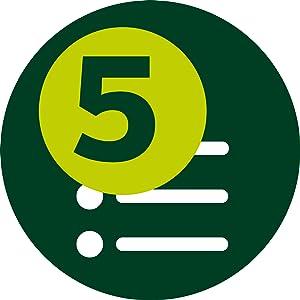 5 Preset Programs
