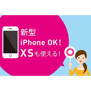 新型iPhoneもOK!