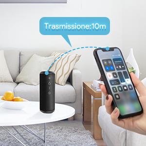 Zamkol Cassa Altoparlante Bluetooth 4.2, IPX6 Portatile Wireless Speaker TWS & AUX & USB, 24W Bluetooth Subwoofer Shockproof Speakers, Audio Stereo 360 per Smartphone, Computer, TV, Viaggio