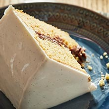Vanilla Bean Paste, Mirror Glaze Cake, Cake