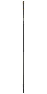 Mango QuikFit 156 cm · Cepillo de exterior · Rastrillo aireador · Cepillo pequeño para hojas · Cultivadora / Azada / Desbrozadora · Rastrillo de 16 dientes