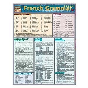 french grammar quickstudy academic 9781572225282 inc barcharts books. Black Bedroom Furniture Sets. Home Design Ideas