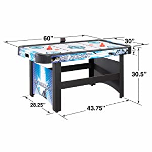 Air Hockey Table Family Game Table Room Kids Adults