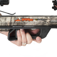 crossbow, crossbow safety features, wicked ridge, crossbow safety wings, tenpoint, invader g3