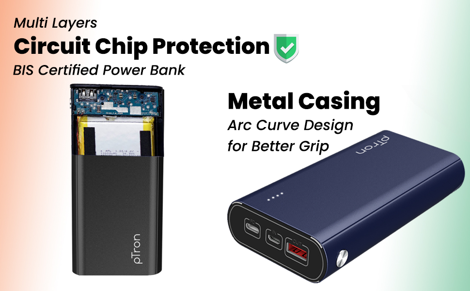 ptron dynamo zip power bank c type