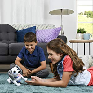 spin master, interactive toys for kids, dog, gifts for boys and girls, responsive, train, robot dog