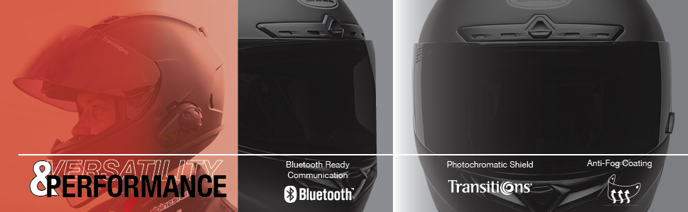 Bell Qualifier full face motorcycle helmet