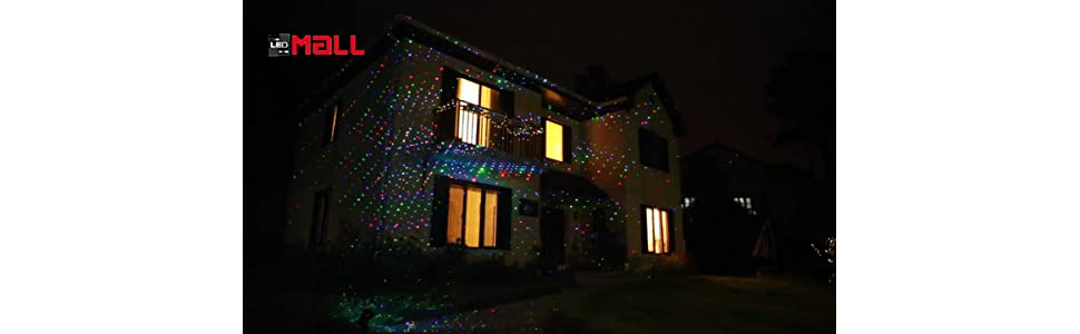 Laser Christmas Lights.Moving Firefly Ledmall Rgb Outdoor Garden Laser Christmas Lights With Rf Remote Control And Security Lock