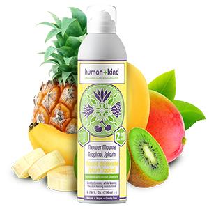 Human+Kind Shower Mousse - Tropical Splash