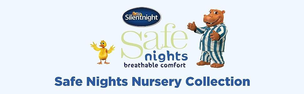 Silentnight Safe Nights Anti Allergy Cot Bed Nursery Duvet