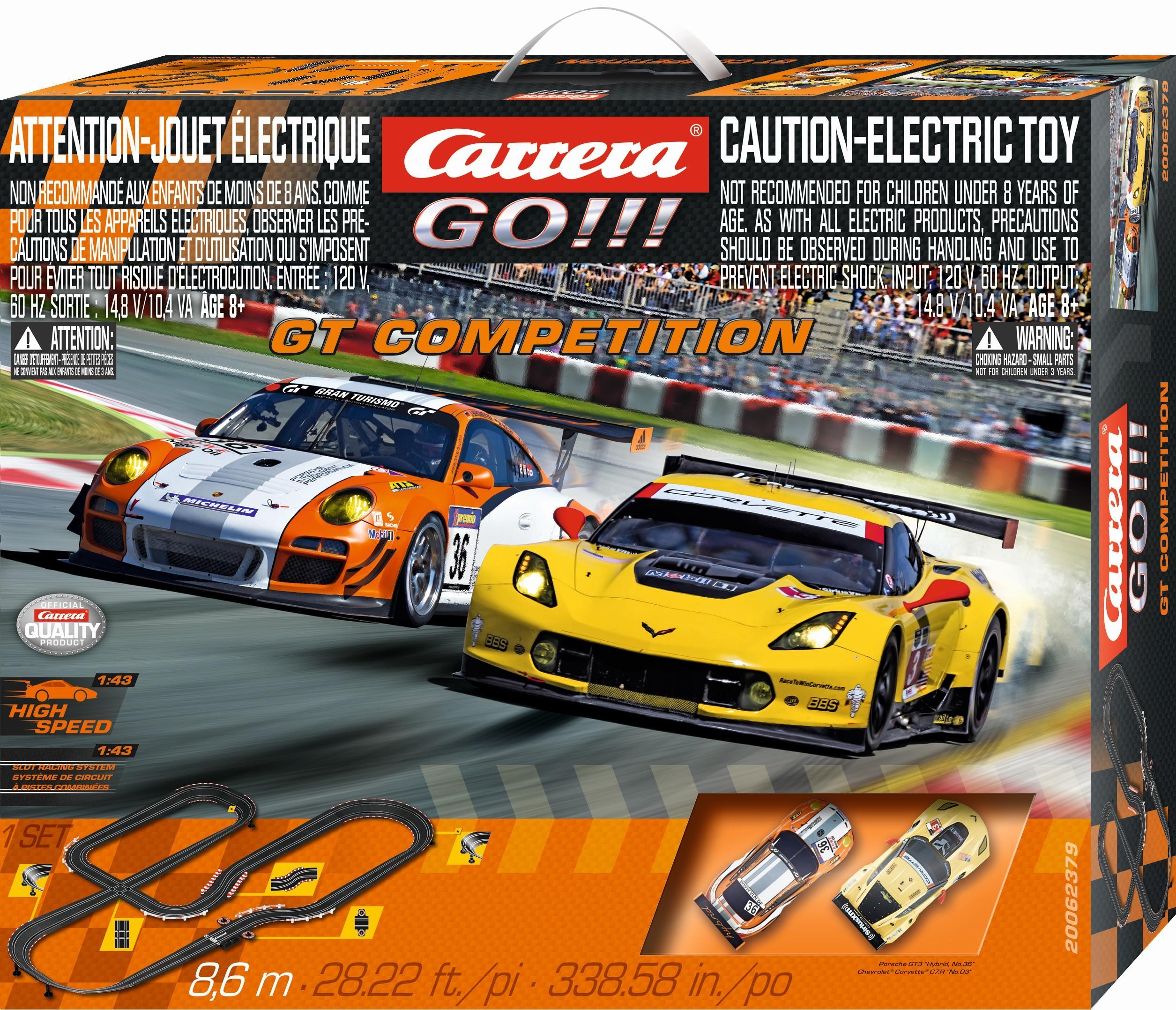 Amazon.com: Carrera GO!!! GT Competition 1:43 Scale