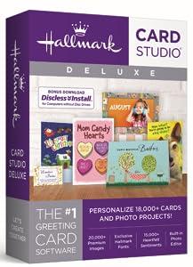 Amazon hallmark card studio deluxe 2018 software hallmark card studio deluxe 2018 m4hsunfo