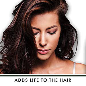 Adds Life to the Hair