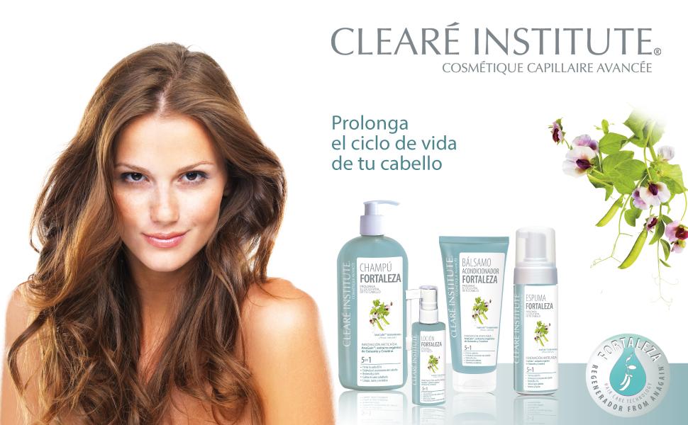 Cleare Institute Loción Fortaleza Anticaída, Ingredientes ...