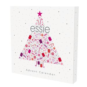 Calendario avvento, Natale, Idea regalo, smalto semipermanente, kit, smalto, essie