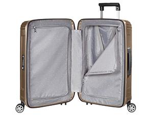 samsonite, neopulse, maleta, spinner, maleta de 4 ruedas, maleta con interior completamente forrado maletas 55x40x20