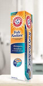 PASTA DENTAL PEROXIDO, PASTA, truly  radiant, pasta con menta, pasta control sarro, pasta sensitive