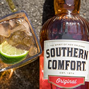 Whiskey, southern comfort, whisky, new orleans