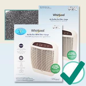 amazon com whirlpool 1183054k 1183054 true hepa filter large