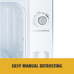 Easy Manual Defrost