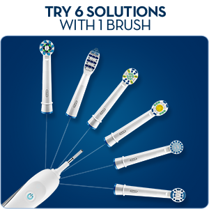 Oral-B Trizone Toothbrush Heads Pack of 4 Replacement