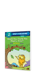 Would You, Could You Plant a Tree? by Dr. Seuss Lorax earth day books for kids