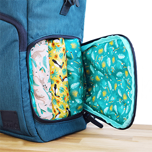 baby & beyond change bag messy pocket for used nappies